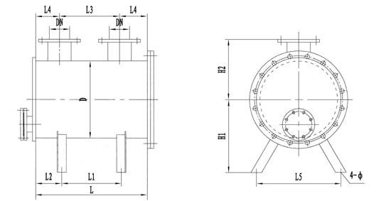 非本表所列规格的煤气管道水封器,本公司可代           为设计和制造